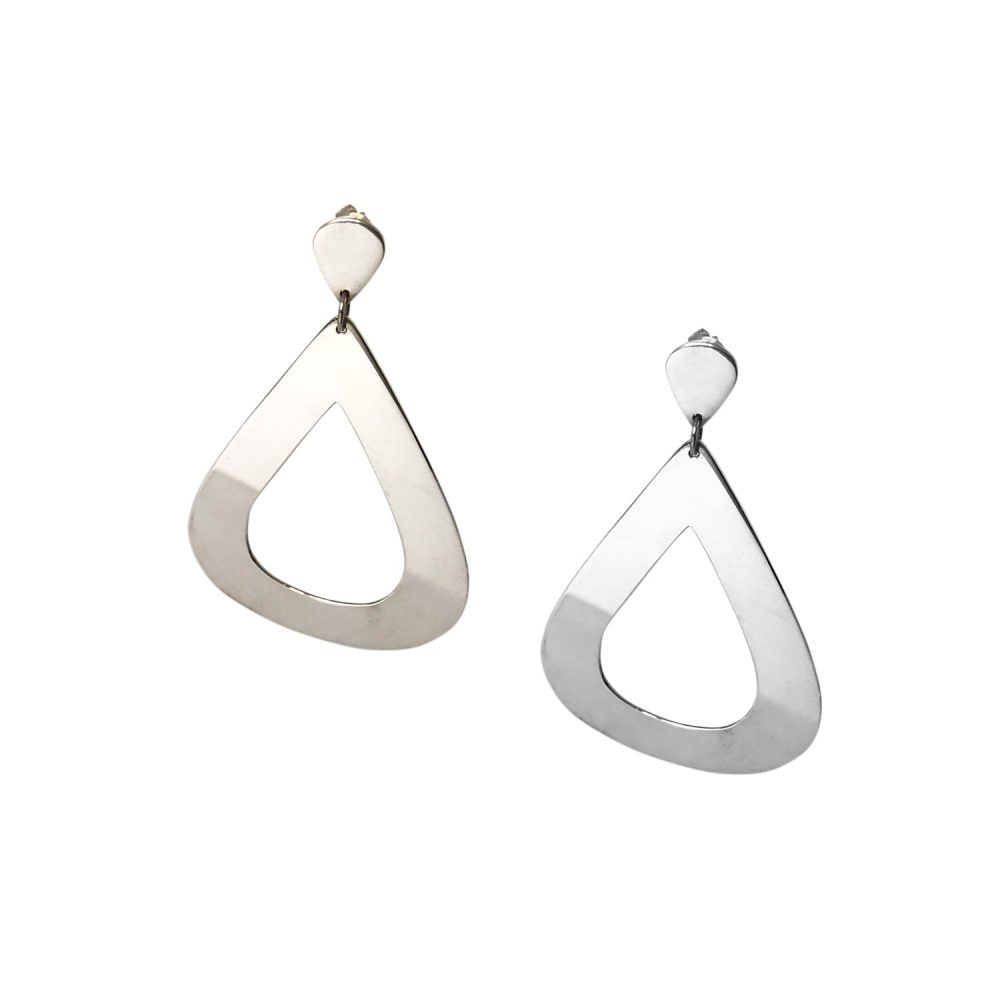 MINE Jewellery BIG TEARDROPS Silber 1