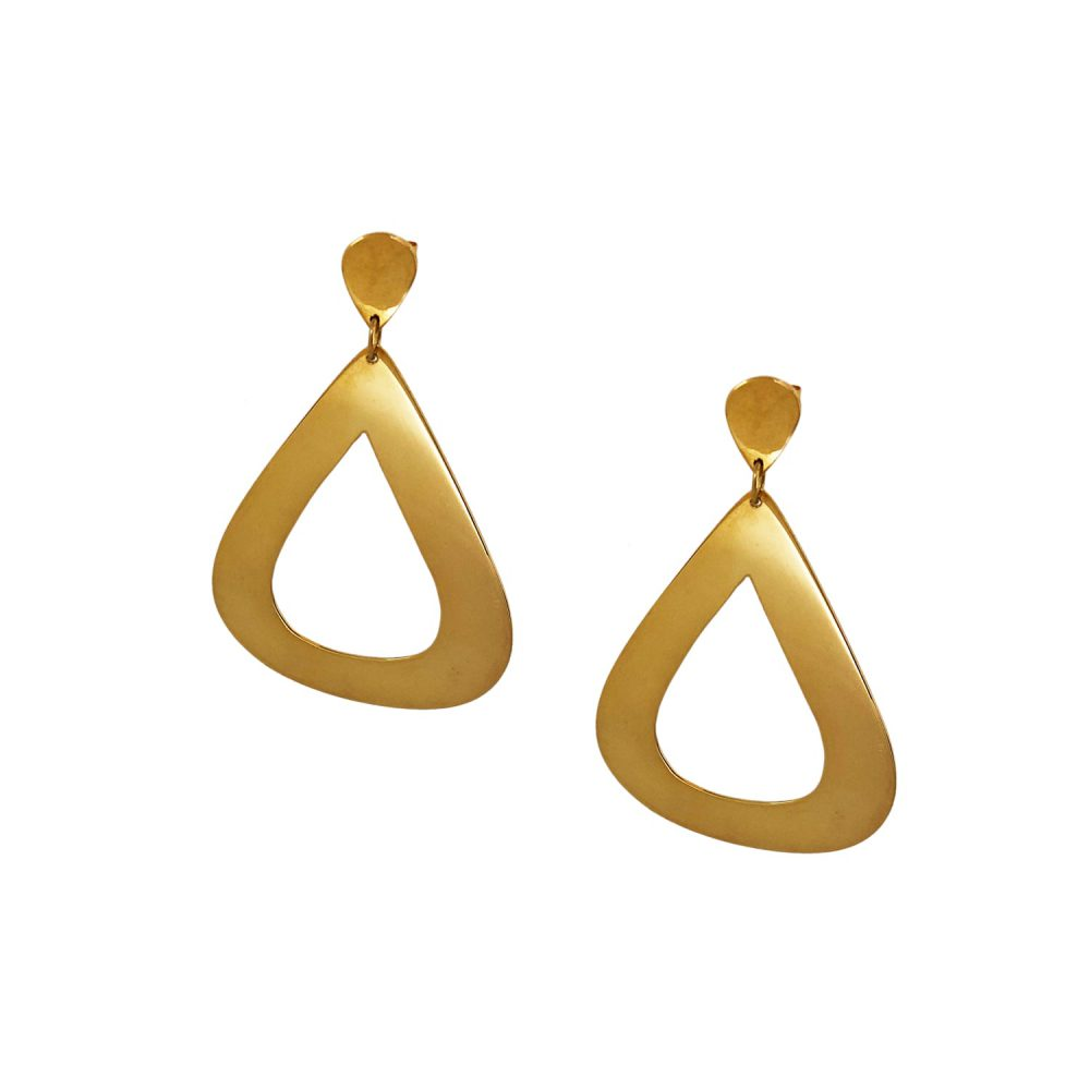 MINE Jewellery BIG TEARDROPS Gold 1